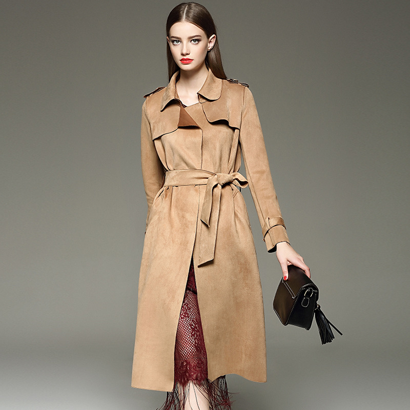 Suede trench coat - Suede Trench Coat – Fashionable Jacket 2017 Photo Blog