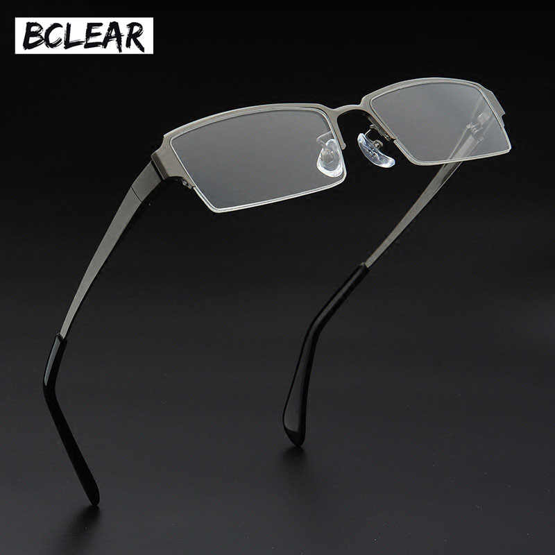 d7907871a2d6 Detail Feedback Questions about BCELAR Optical Titanium Glasses Frame Men  Retro Clear Myopia Prescription Eyewear Square Designer Eyeglasses Frame ...