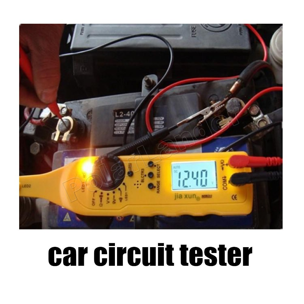 car styling Multi function Circuit Tester Car Automotive Power Electric Circuit Fault Detector Lamp Probe Lighting