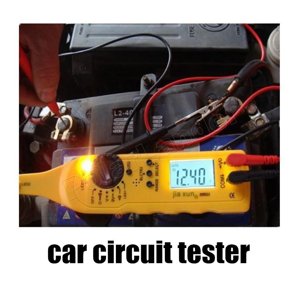Voiture style multi-fonction testeur de Circuit voiture automobile puissance Circuit électrique détecteur de défaut lampe sonde éclairage