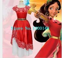 Movie Princess Moana Costume for Halloween Elena of Avalor Princess Elena Cosplay Costume Fancy Dress For adult Custom Made