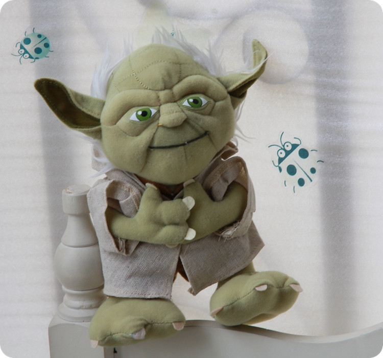 Star wars plush toys Yoda 8