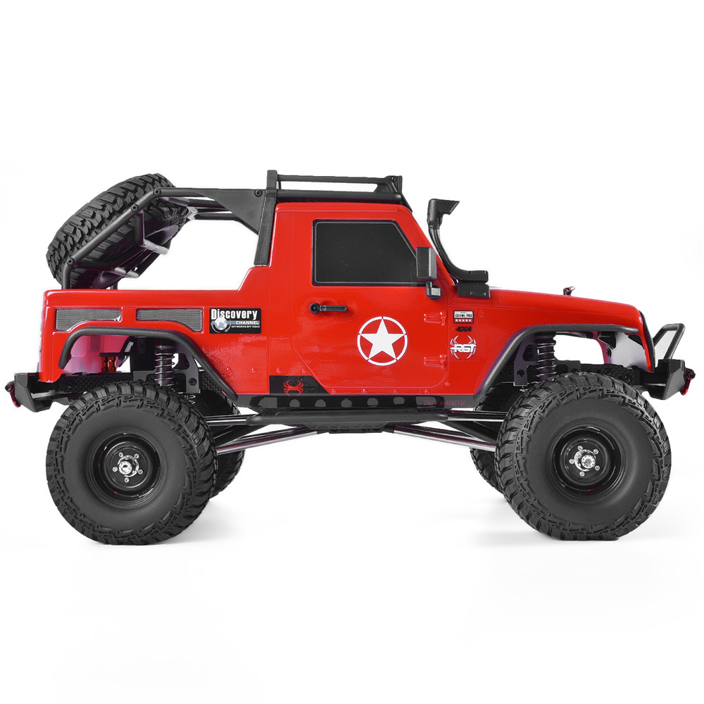 RGT RC Crawler 1:10 Scale 4wd RC Car Off Road Truck RC Rock Cruiser EX86100PRO Rock Crawler RTR 4x4 Waterproof RC Toys