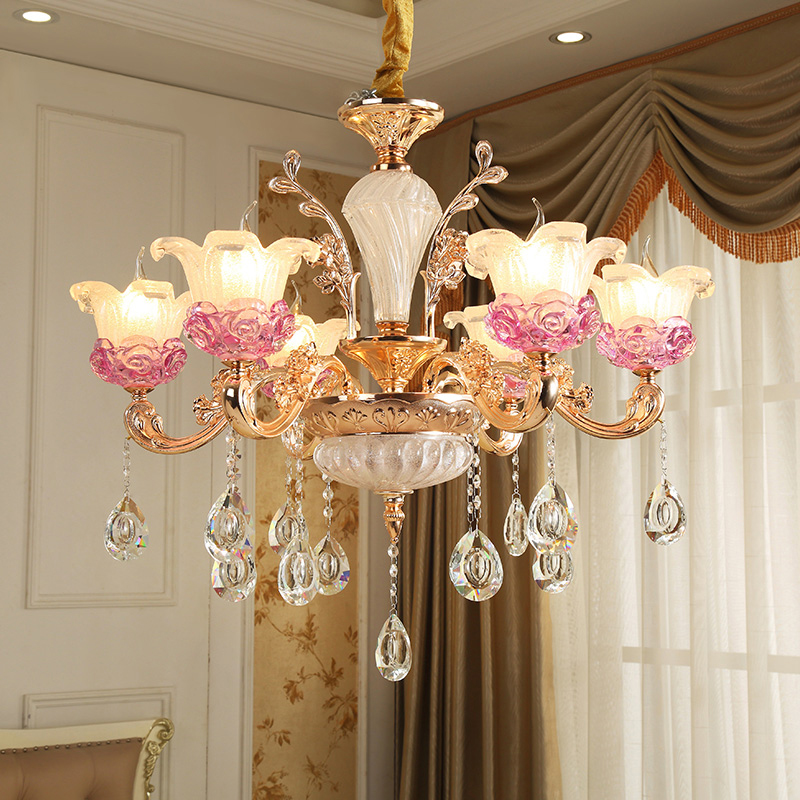 European Chandelier Lighting Modern Living Room Bedroom Crystal Chandelier Dining Room led Gold Zinc Alloy Crystal Chandeliers chandelier lighting crystal luxury modern chandeliers crystal bedroom light crystal chandelier lamp hanging room light lighting