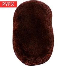Fleece Shoe Polishing Cloth Imitating Wool Shoe Polishing Gloves Shoe Polishing