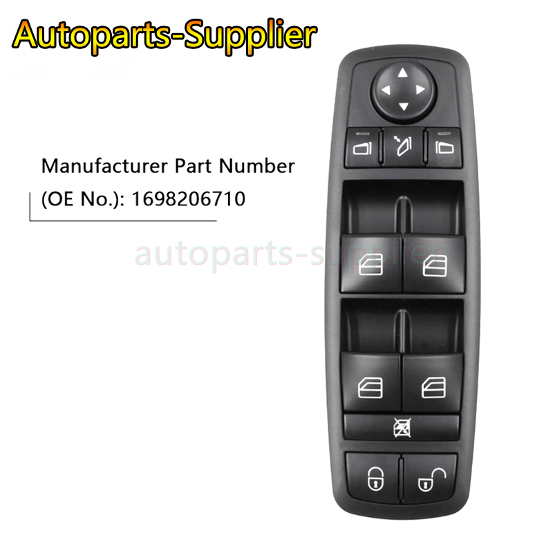 1698206710 High Quality Electric Power Window lock Switch <font><b>A1698206710</b></font> For Mercedes-Benz B-Klasse W245 W169 image