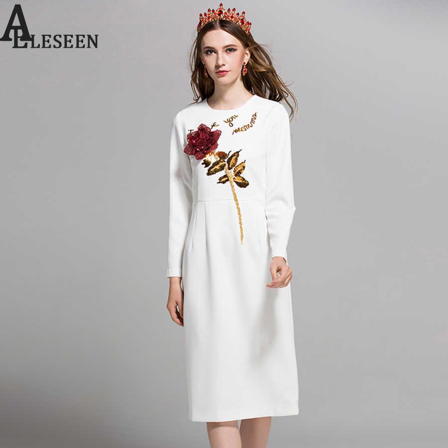 919cc021a0c6bed Новое поступление Офисные женские туфли Для женщин платья 2018 осенние модные  дизайнерские белый/black rose