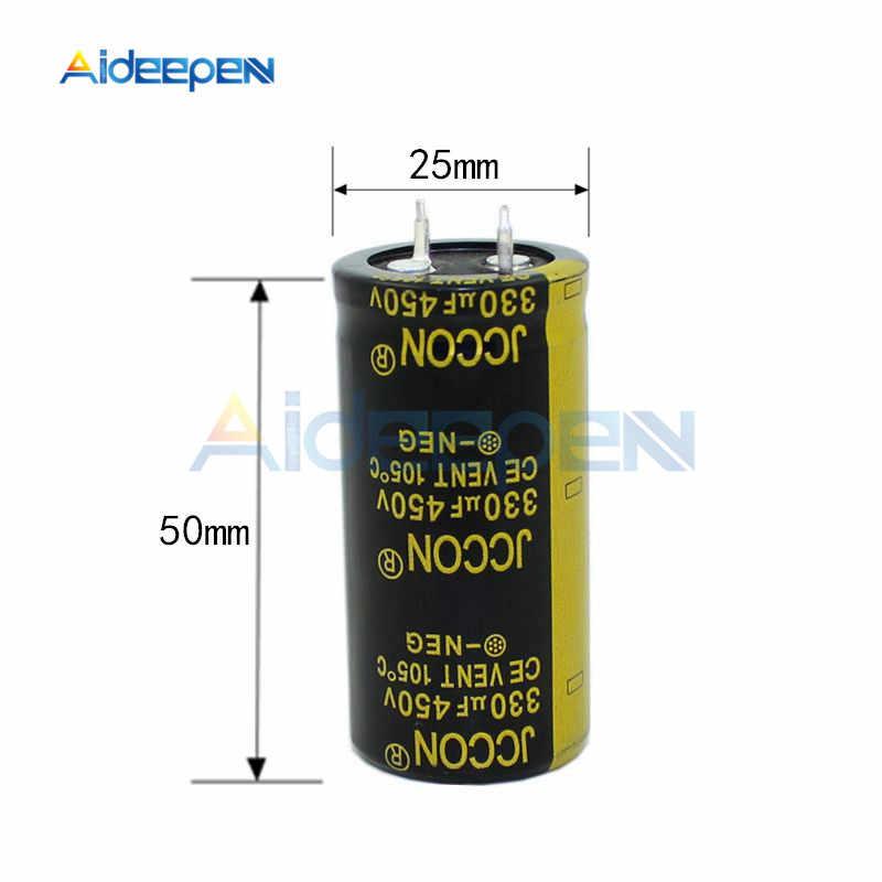 1x 2200uF 450V Large Can Electrolytic Aluminum Capacitor Surge 525V 2200mfd DC