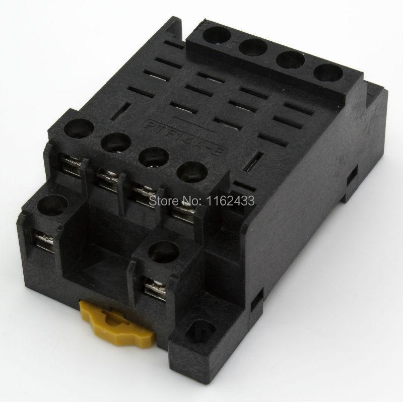 Ptf14a E 14 Pin Relay Socket Base For Ly4 Hh64pin Relays From Home Rhaliexpress: 14 Pin Relay Socket At Amf-designs.com