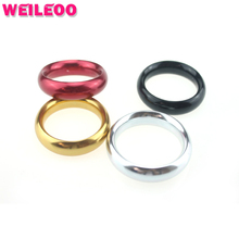 Aluminum alloy delay cock ring metal penis ring cockring ball stretcher adult sex toys for men