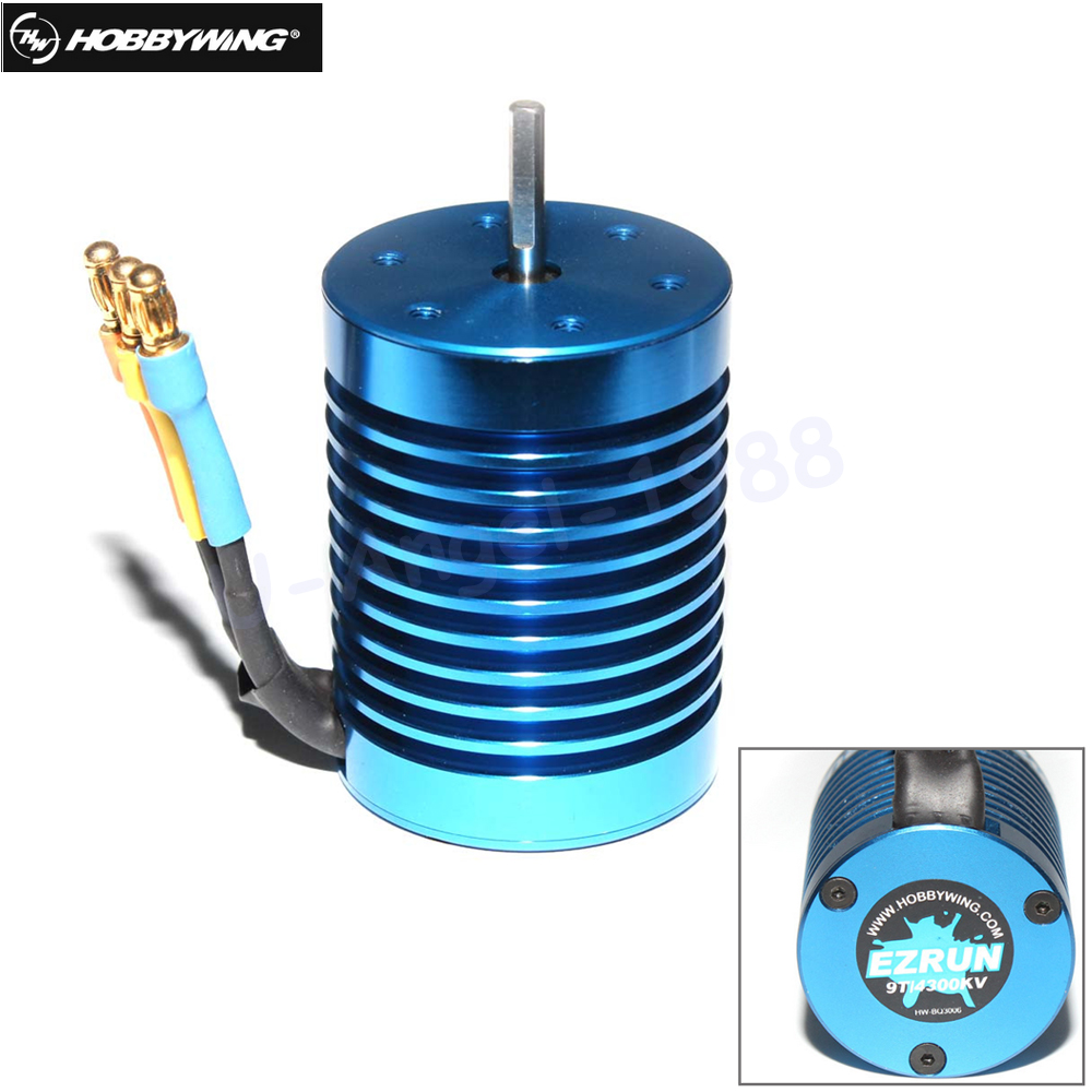 ФОТО 1pcs original hobbywing ezrun 3650m senseless 9t /13t kv4300 / kv3000 brushless motor for 1/10 rc car