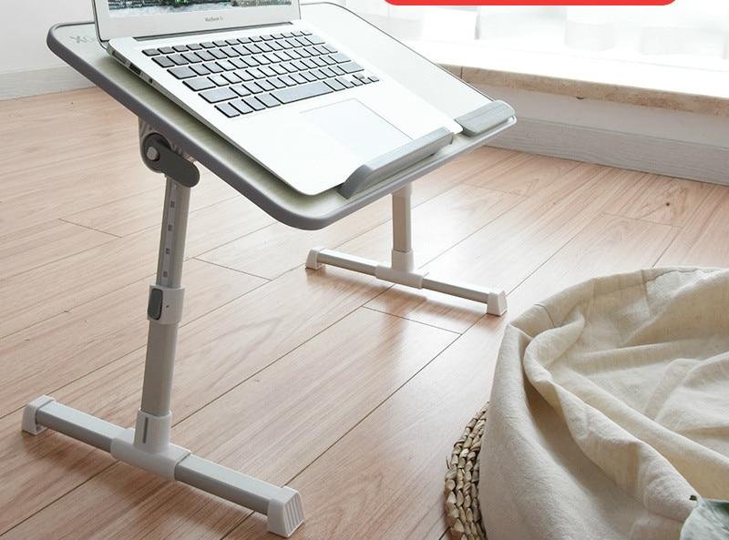 Table Simple pliante multifonctionnelle sur le lit avec un ventilateur de refroidissement pour soulever une petite Table dans un dortoirTable Simple pliante multifonctionnelle sur le lit avec un ventilateur de refroidissement pour soulever une petite Table dans un dortoir