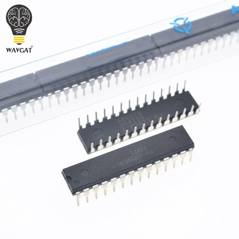 Бесплатная доставка 1 шт. ATMEGA328P-PU чип ATMEGA328 микроконтроллер MCU AVR 32K 20MHz flash DIP-28