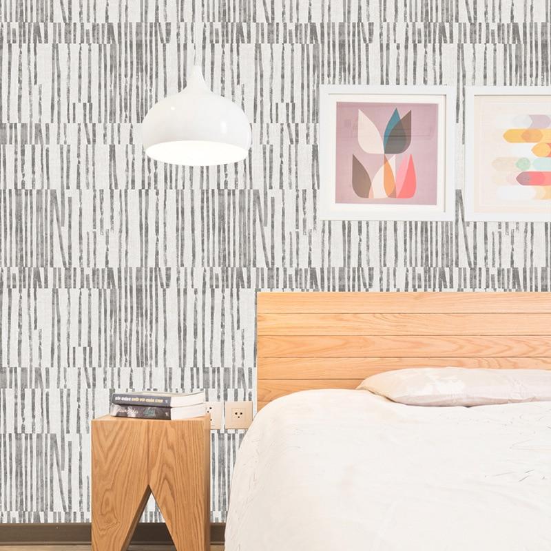 Beibehang Home decoration European simple vertical striped wallpaper Living room bedroom study TV wall 3d wallpaper roll mural