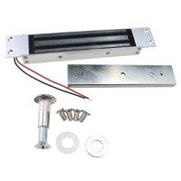 Gebaut in RFID verdeckte montage Elektrische magnetische Access Control System Kit + 350LBs 180 kg Magnetverschluss + 10 schlüssel + EXIT-taste