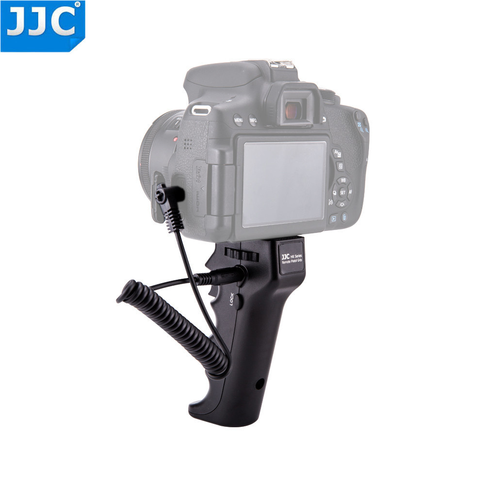JJC Camera Steady Steadicam Shutter Triggering Remote Handle Grip Video Stabilizer For Canon/Nikon/Sony/Olympus/Pentax /Fujifilm