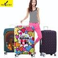 Предпочитают цвета чемодан Обложка для 20 дюймов-32 дюймов чемодан упругие полиэстер материал со случайными 1 шт. бесплатная доставка 16861TT
