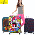 Prefer colors suitcase Cover  for 20inch-32inch suitcase elastic polyester material with random 1 pcs free shipping 16861TT