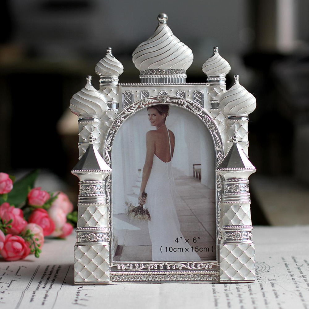 Antique Wedding Gifts: Unique Romantic Castle Photo Frame Vintage Photo Frame