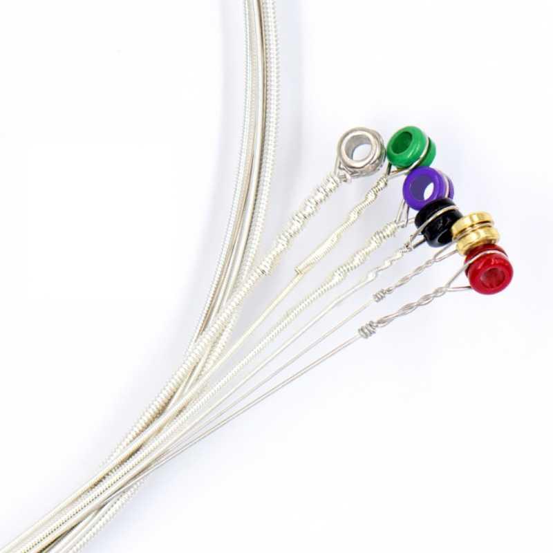 4 struny/5 strun/6 struny gitara klasyczna ciąg ze stali sześciokątnej 85% miedzi i 15% cyny rdzeń elektryczny bas gitara