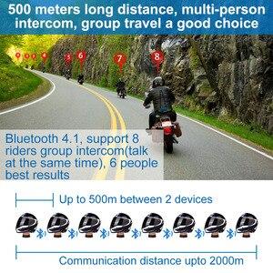 Image 2 - Переговорное устройство для мотоциклетного шлема, 2 шт., 2000 м