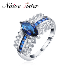 Rings Wedding Elegant Blue