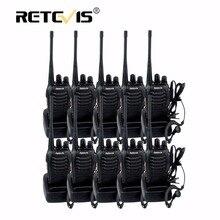10 pcs Bon Marché Talkie Walkie Radio Retevis H777 3 W 16CH UHF 400-470 MHz lampe de Poche CTCSS/DCS Talkie-walkie Communication Équipement