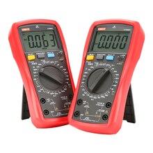 Цифровой мультиметр UNI T UT890C UT890D +, 6000 отсчетов, ручной Амперметр частоты, температуры, напряжения, переменного/постоянного тока, DMM конденсатор, тестер NCV