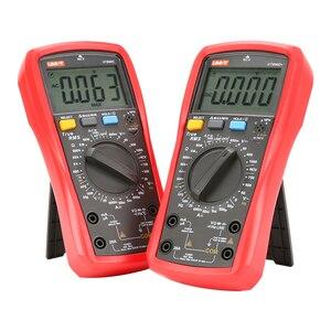 Image 1 - يوني تي رقمي متعدد UT890C UT890D + 6000 التهم دليل تردد درجة الحرارة الجهد أمبير التيار المتناوب تيار مستمر DMM مكثف تستر NCV