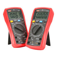 Uni t multímetro digital ut890c ut890d + 6000 contagens manual frequência temperatura tensão amperímetro ac dc dmm capacitor tester ncv|Multímetros| |  -