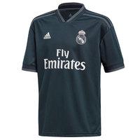 Real madrid 2018 2019 Boy Adidas black polyester Football Shirt soccer jerseys, REAL MADRID SHIRT