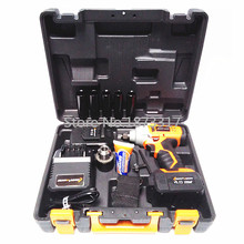 4.0AH electric impact wrench rechargeable lithium electric wrench equipped with an electric drill conversion head