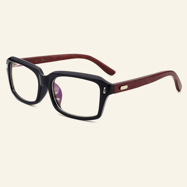 New Personality Wooden Optical Glasses Frames Clear Lens Goggles ...