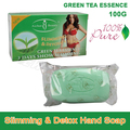 100% Pure Green Tea Essence Lose Weight Loss Slimming & Detox Body Soap Fat Burn Effective slim cream best partner product 100g