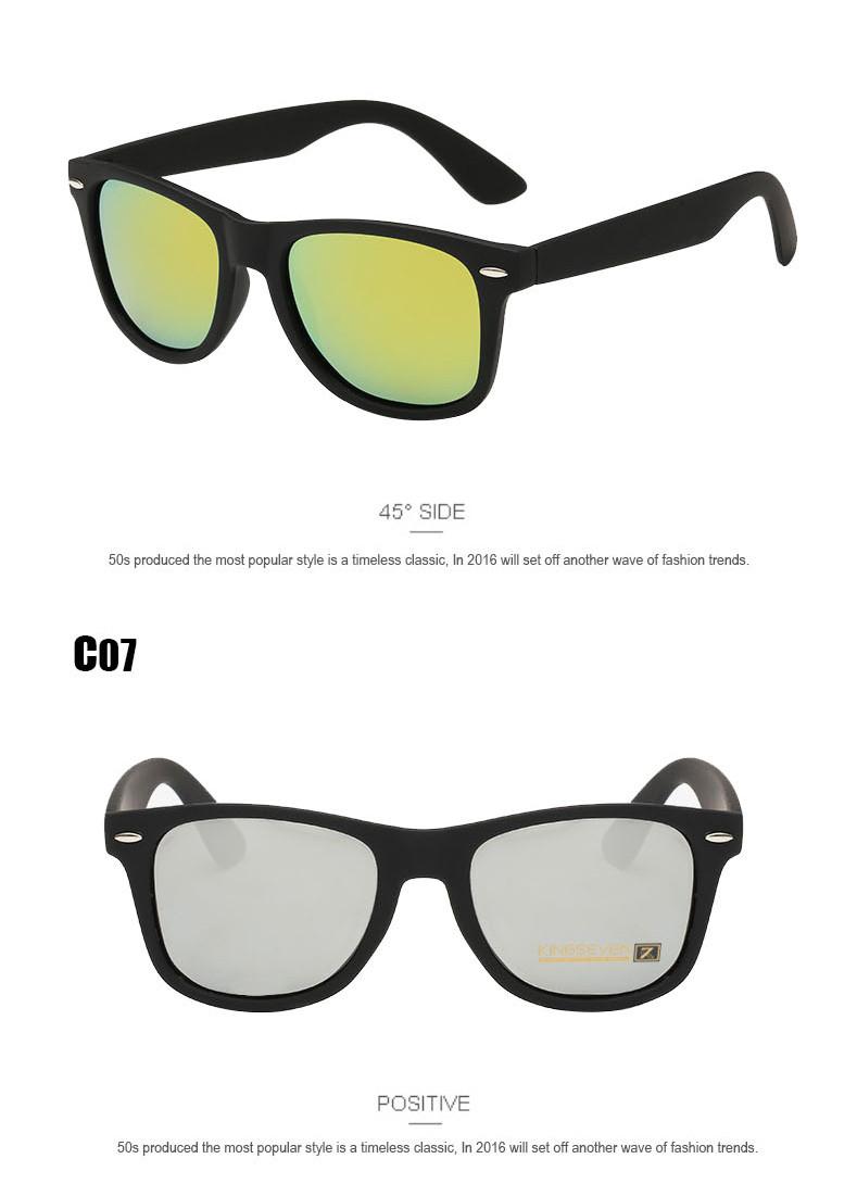 Fashion Brand designer Mens Retro Mirror Sunglasses for Women and Men Sports Driving Polarized Coating UV400 Eyewear Sun Glasses 12