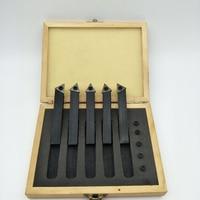 """19 Small Portable Post Holder Kit 19 Pcs Boring Bar Holder for CNC Mini Lathe with 9pcs 3/8"""" Boring Bar and 5pcs Blade (1)"""