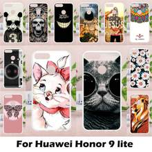 Ojeleye Silicon Case For Huawei Honor 9 Lite Case Anti-knock For Huawei Honor 9 Youth Edition AL00/AL10/TL10 Fitted Case Coque(China)
