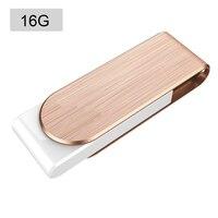 10 шт. F50 высокое Скорость USB 3,0 Flash Drive флэш памяти металлический диск USB придерживаться Золотой 16 г для Планшетные ПК