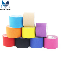 New 3 Rolls 5cm X 5m Sports Kinesiology Tape Cotton Elastic Adhesive Muscle Tape Bandage Strain