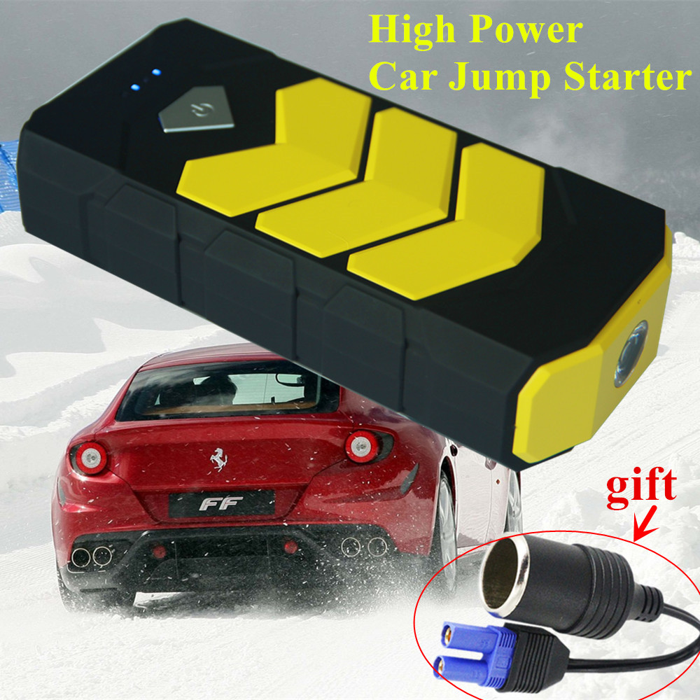 2017 Emergency 20000mAh Car Jump Starer Portable 12V Petrol Diesel Starting Device Power 400A Start-Car Charger Booster Buster 2017 30000mah 12vportable car jump booster led charger emergency start power bank new