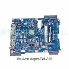 EA53-BM EG52-BM MB 14222-1 448.03708.0011 Pour Acer aspire ES1-512 mère d'ordinateur portable NBMRW11002 NB. MRW11.002 SR1YJ N2840 CPU