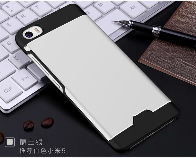 100% original aixuan marca metal case para xiaomi mi5 mi 5 tampa traseira do caso de luxo para xiaomi m5 com vidro temperado film