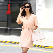 c275a772a5 T-inside725 Linen Dress Office Self Portrait Tmall Shein Classy Cheap  Clothes China Women Baby Orange Womens Dresses New
