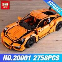 LEPIN 20001 Technic Series Race Car Model 20001B Building Kit Blocks Bricks Set 42056 Educational 21014