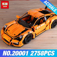 LEPIN 20001 Technic Series Race Car Model 20001B Building Kit Blocks Bricks Set 42056 Educational 21014