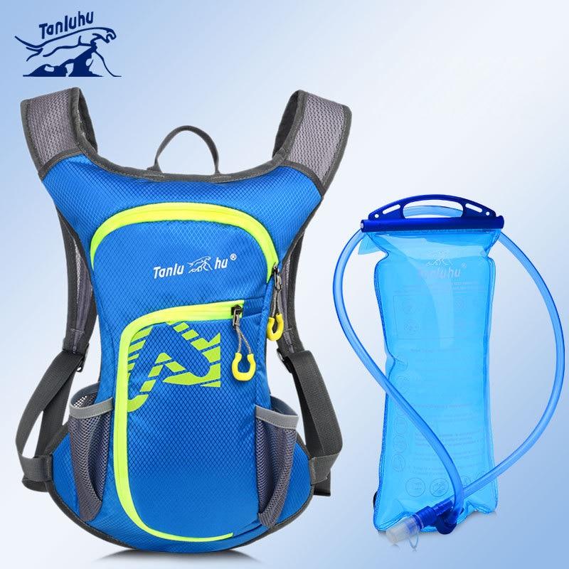 TANLUHU 669 Men Women Water-resistant Cycling Marathon Running Jogging Hiking Water Bag Hydration Backpack Pack Vest Bag