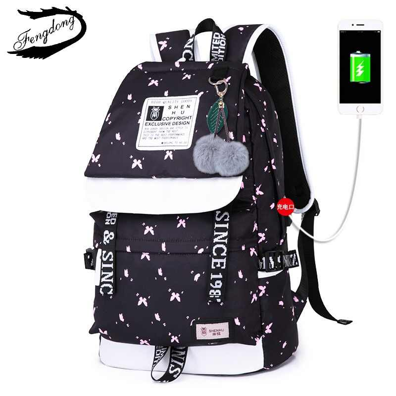 9120e1827 2019 New Emoji Travel Women Backpack Pompom Shoulder Bag Teenage Girls Best  Travel Laptop Work Backpacks