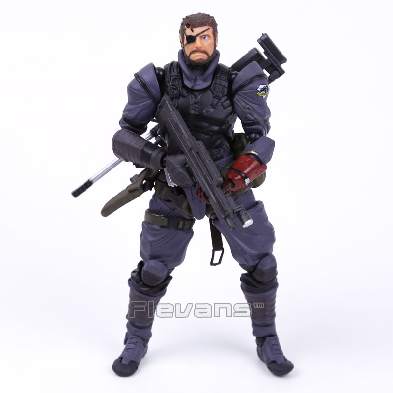 Powered by Revoltech Metal Gear Solid V The Phantom Pain Venom Snake PVC Action Figure Collectible Model Toy metal gear solid action figure sons of liberty figma 298 soldier pvc toy 16cm anime games figures snake collectible model doll