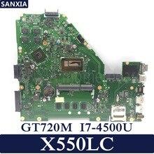 KEFU X550LC Laptop motherboard for ASUS X550LC X550LD A550L Y581L W518L X550LN Test original mainboard 4GB-RAM I7-4500U GT720M