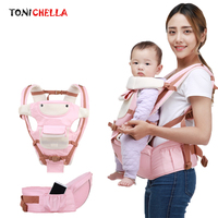 Baby Carrier Backpack Ergonomic Portable Infant Sling Wrap Hipseat Breathable Kid Newborns Front Facing Kangaroo Carriers CL5370
